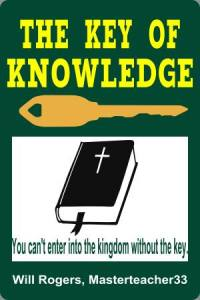 THE KEY OF KNOWLEDGE BOOK COVER